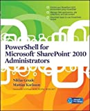 img - for PowerShell for Microsoft SharePoint 2010 Administrators book / textbook / text book