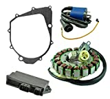 Rmstator Kit Stator CDI Ignition Coil Gasket For Yamaha Y...