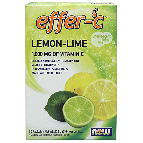 Now Supplements, Effer-CTM, Lemon Lime, 30 Packets