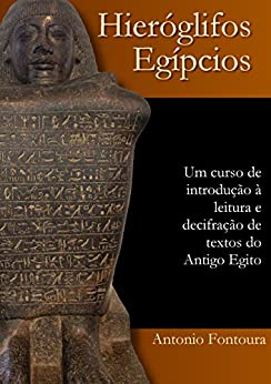 Hieróglifos egípcios: Um curso de introdução à leitura e escrita do Antigo Egito por [Fontoura, Antonio]