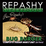 Repashy Bug Burger 70.4 oz (4.4 lb) 2kg - Complete Insect Diet - Keep Feeder Insects Alive Longer