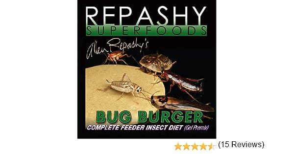 Repashy Bicho Hamburguesa - completo comedero insecto dieta Gel premix 84 gramos: Amazon.es: Hogar