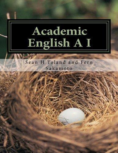 Academic English AI (Volume 1)