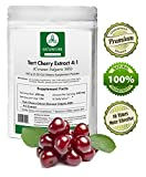 Product review for Naturevibe Botanicals Tart Cherry Extract 4:1 (100 grams) - 4 x more effective - For Uric Acid - Metabolism - Anti Aging