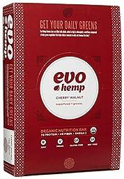 Evo Hemp Raw Organic Nutrition Bar - Cherry Walnut - 1.69 oz - 12 Pack
