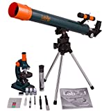 Levenhuk LabZZ MT2 Microscope & Telescope Kit 75x–900x microscope with slides + 50mm refractor