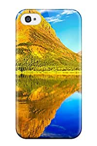 Magic Diy 4/4s Scratch-proof protective case cover For mNlOhWIVCv7 Iphone/ Hot Glacier National Park cell phone case cover