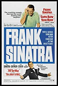 The Joker Is Wild–Póster de la película 11x 17en–28cm x 44cm Frank Sinatra Mitzi Gaynor Jeanne Crain Eddie Albert Beverly Garland