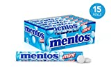Mentos Chewy Mint Candy Roll, Mint, Party, Non Melting, 1.32 Ounce/14 Pieces (Pack of 15) - Packaging May Vary