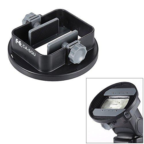 Andoer-Universal-Flash-Adapter-Mount-Bracket-for-Nikon-Canon-Yongnuo-Godox-Speedlight-Barn-Door-Mini-Refelctor