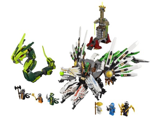 Epic Dragons - LEGO Ninjago 9450 Epic Dragon Battle (Discontinued by manufacturer)