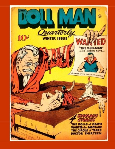 The Doll Man Quarterly #4: Golden Age Comics First Superhero With Shrinking Power pdf
