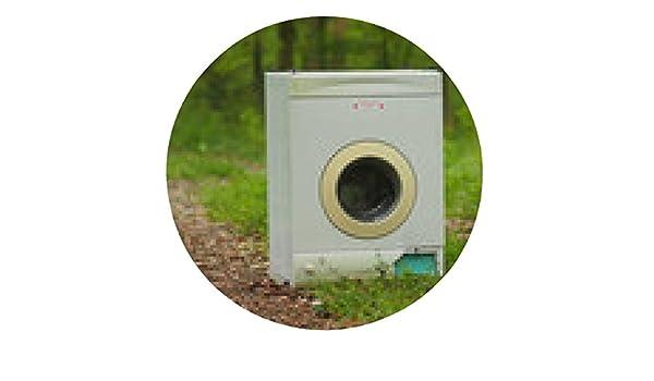 alfombrilla de ratón vieja lavadora ilegalmente vertido en el ...