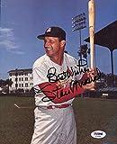 Stan Musial Autographed Signature 8x10 Photo Mint St. Louis Cardinals - PSA/DNA Authentic Hall of Fame Autographed Signature