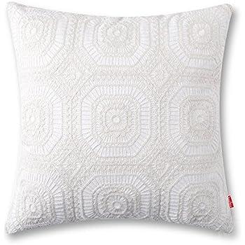 Amazon baibu Embroidered Cushion Cover Unique Pattern Designs