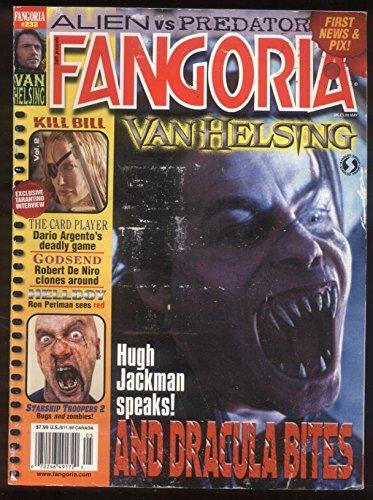 Fangoria 232 Van Helsing Hugh Jackman Kill Bill Tarentino Hellboy Pearlman MBX83