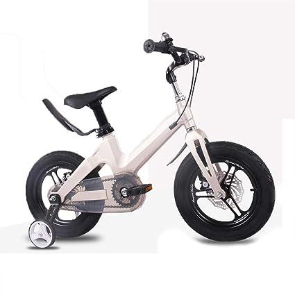 Aleación De Magnesio Bicicleta Para Niños Marco Integral Rueda Delantera Y Trasera Frenos De Disco Doble