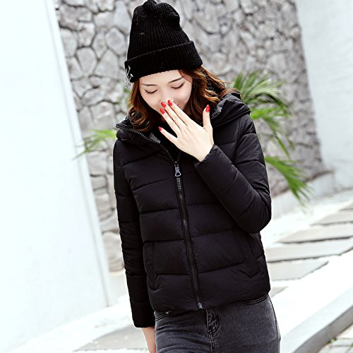 Women Small Winter Bread Cotton Black Winter And For Coat Coat Female The Cotton Short Feather Xuanku g5ISnx5