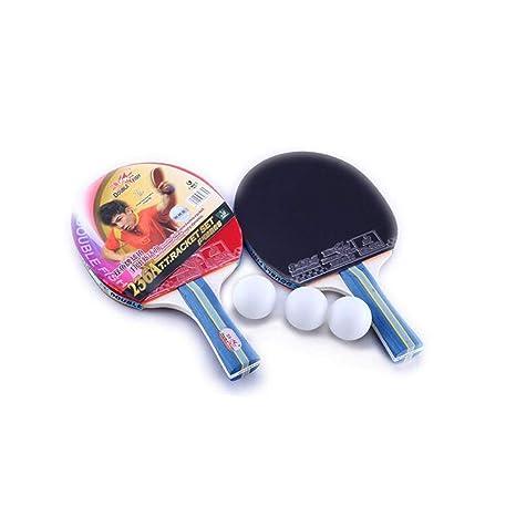 YXHUI Murciélago de Tenis de Mesa, Tempo Horizontal/Juego de ...