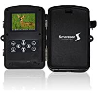 OUR BEST 12MP 1080p GAME TRAIL HUNTING CAMERA with PIR Infrared Motion Sensor, Great Wireless Scouting & Wildview, Wilderness Bundle Strap & Mount Accessories, Waterproof Camo for Deer & Duck Hunting