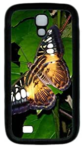 Big Butterfly Custom Designer Samsung Galaxy S4 Case and Cover - TPU - Black
