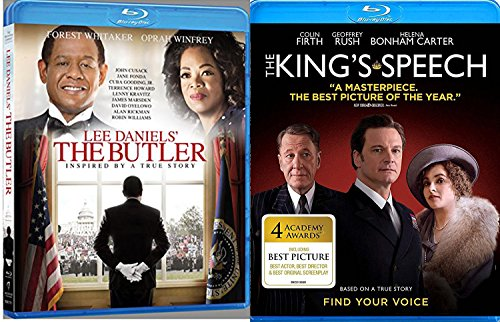 The King's Speech & The Butler Lee Daniels Blu Ray True Story Drama Movie Set