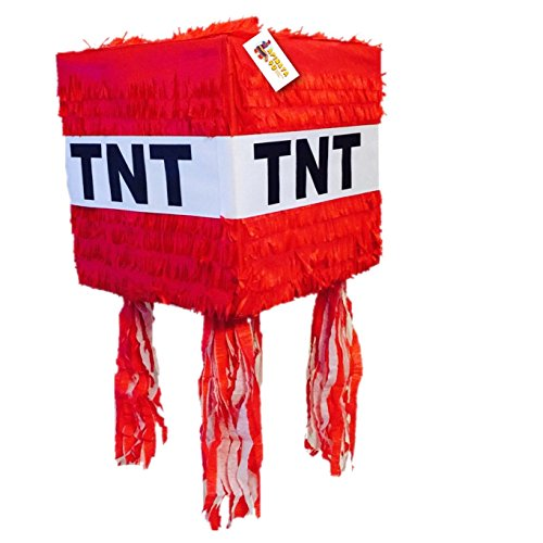 TNT Pinata Red Color by APINATA4U by APINATA4U