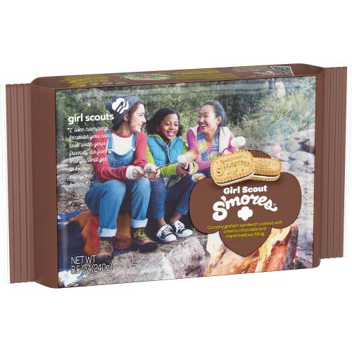 Girl Scout S'Mores Cookie 2 Boxes