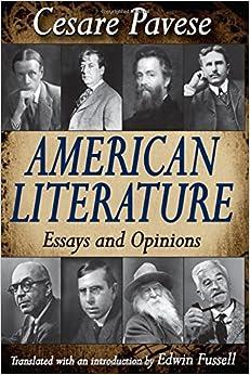 Amazon.com: American Literature: Essays and Opinions ...