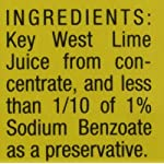 Nellie & Joe Key West Lime Juice, 16 Fl Oz (Pack of 3) 8 Nellie & Joe Key West Lime Juice - 16 oz 16 FZ 3 Pack