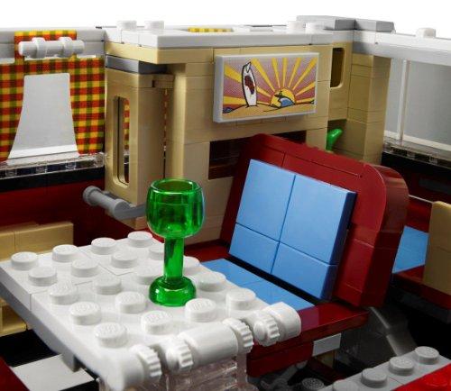 Lego Creator 10220 Volkswagen T1 Campingbus Amazon De Spielzeug