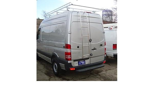 Acero inoxidable Van de la puerta trasera escalera 2007 - 2016 Dodge, Freightliner, Mercedes-Benz Sprinter Van 2500, 3500high Top Vans: Amazon.es: Coche y ...