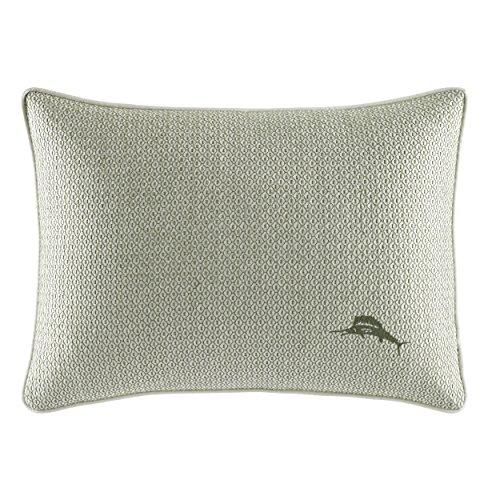 Tommy Bahama Cuba Cabana Throw Pillow, 12x16, Green (Bahama Throw Tommy Pillows)