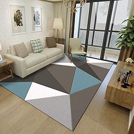 QLJDT Geometric Pattern Carpet Living Room Carpet Sofa ...