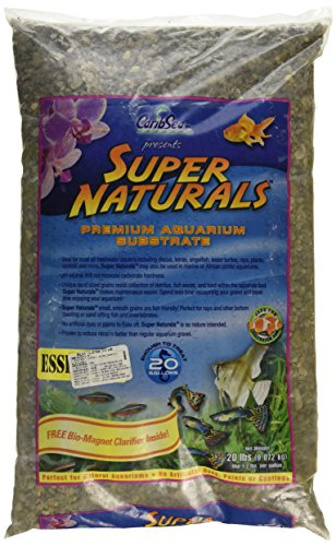 Caribsea Super Naturals Essentials Aquarium Sand, 20-Pound, Blue Ridge by CaribSea Aquatics