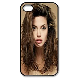 [Celebrity] Angelina Jolie Hot Case for IPhone 4/4s {Black}