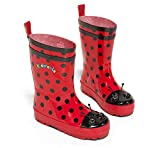 Kidorable Ladybug Rain Boot (Toddler/Little Kid), Red, 9 M US Toddler