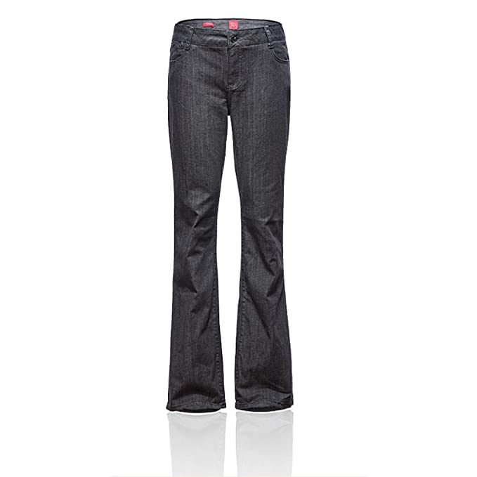 bab11c10f1d62 Zity Women s Plus-Size Relaxed Fit Straight-Leg Jean  Amazon.ca  Clothing    Accessories