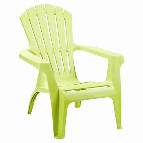 Gartenstühle kunststoff  Amazon.de: Adirondack Chair Stapelstuhl Gartenstuhl Kunststoff - Grün