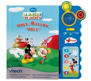 Vtech Magi Livre Interactif Maison De Mickey Amazon Fr