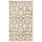 Safavieh Amherst Collection AMT424S Wheat and Beige Indoor/Outdoor Area Rug (3′ x 5′) Review