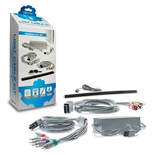 Tomee Lost Cable Kit for Wii (Wires For Wii)