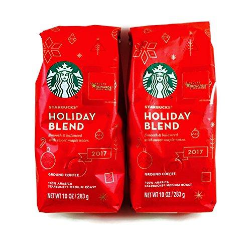 Starbucks Holiday Blend Medium Roast Instruct Coffee, 10-Ounce Bag (2 Pack)