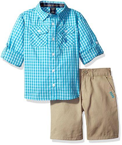 Gingham Check Woven Shirt - 5