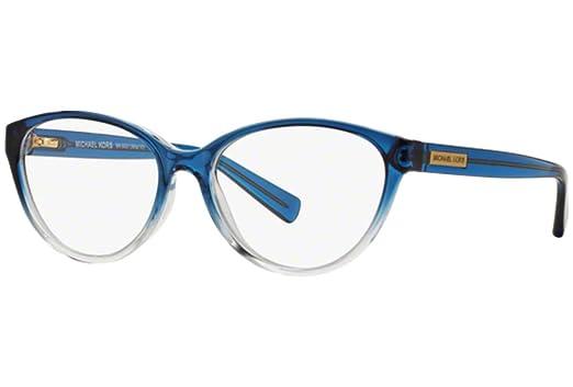 b54dd18243531 Michael Kors MITZI VI MK8021 Eyeglass Frames 3122-52 - Blue Clear Gradient