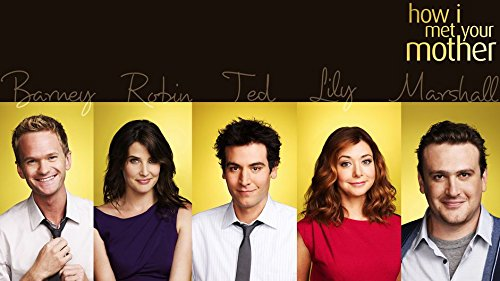 8-HO5812 How I Met Your Mother 62cm x 35cm,25inch x 14inch Silk Print Poster