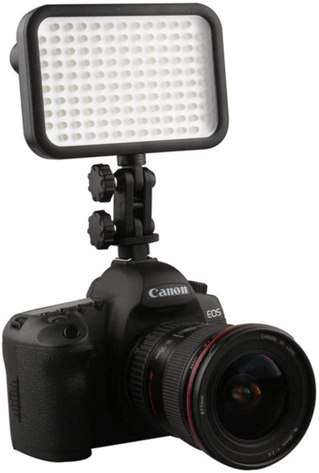 Flashes - 126 LED Video Light Lamp Hot Shoe for DV Cam DSLR Camera