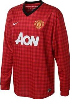 5d706fdac7b Nike Manchester United Home 2012-13 Long Sleeve Soccer Jersey