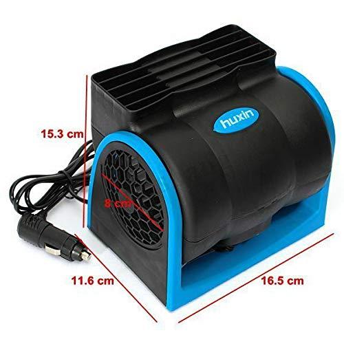 - Springdoit Car 12V bladeless air Conditioning Fan Mute car Electric Fan Super Powerful Adjustable Speed
