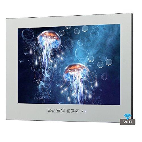 "Soulaca 27"" Frameless Smart LED TV Mirror Waterproof M270FA"
